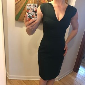 French Connection Dresses - Gorgeous hunter green French Connection dress - 0